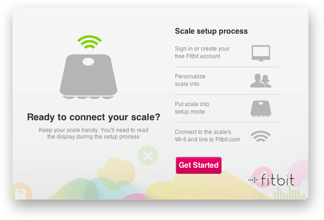 Using a Wi-Fi Enabled Computer: Scale setup process